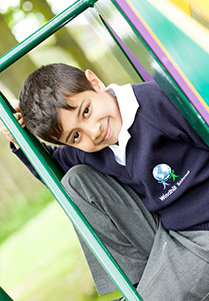 Photo of Windhill21 student in the playground